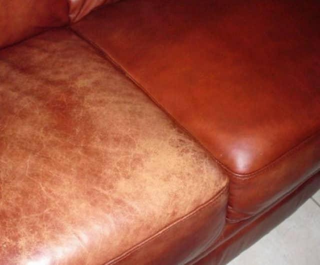 Покрасить кожу домашних условиях
